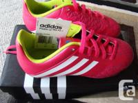 Brand New in Box, Never Worn, Adidas shoes in Hot Pink