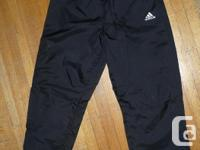 Authentic Adidas Children Track Sweats Sports Pants,