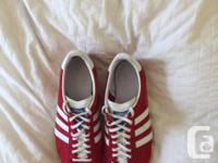 I have a pair of adidas gazelles (size 8.5) that I've