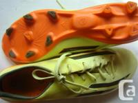 Adizero - Adidas Outdoor Soccer Shoes in Yellow Orange