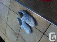 I have 2 pairs of ladies adidas shoes size 6 one pair