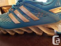 Like new pair of Adidas Springblade Cross Training