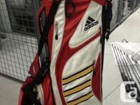 Hey golfers!   I am selling my golf bag, it's an Adidas