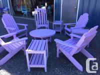Adirondack Chairs, Footstools, Accent & Conversation