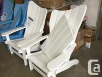 OUTDOOR POLY FURNITURE CLEARANCE / NEW ADIRONDACK