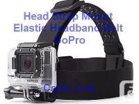 Adjustable Elastic Head Belt Strap Sport Mount For