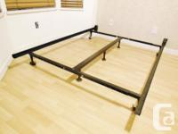 Adjustable Metal Bed Frame - adjustable to fit Full