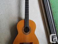Hi everyone, For sale I have an Admira Spanish Guitar.