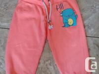 Adorable Orange Capris from Bluenotes in great