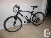 Selling a quality adult size GT 21 speed mountain bike