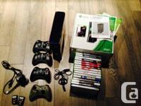 I have a grownup owned XBOX 360 Bundle available which