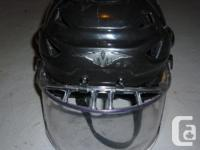 Helmet has the advanced concussion liner--is