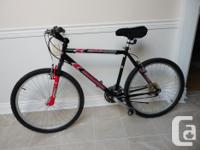 Selling an adult size 21 speed commuter mountain bike