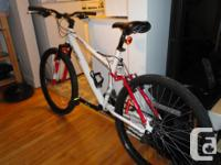 Selling an adult size 21 speed full suspension mountain