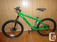 Selling an adult size NORCO Havoc mountain bike in