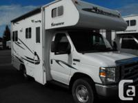 These are the ideal size little Class C Motorhomes for