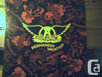 Aerosmith-Permanent Vacation. 1987 Geffen Records. XGHS