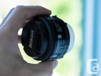 This sweet lens is called the Nifty Fifty for a