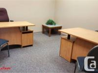 Our Professional, Furnished offices are available NOW