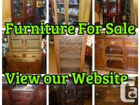View all our Furniture available on our Website email