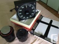 Agrandisseur et équipement - photo noire et blanc * 2