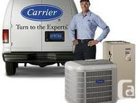 TRANE & CARRIER  FURNACE & AIR CONDITIONERS  18 month