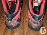 Selling a pair of Air Jordan Melo basketball shoes that
