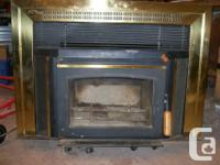 air tight fireplace insert in perfect condition only
