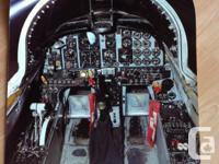 "- CF-5 cockpit, photo paper, 24"" x 20"" $10 - RAF"