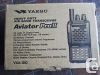 TOP CONDITION. MODEL AVIATOR PRO11, VXA-120. COMES WITH