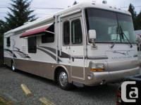 40' Hill Aire diesel pusher electric motor residence.