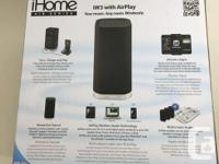 This is an AirPlay wireless speaker system that uses