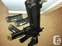 Selling my VFC HK416 AEG to make way for a new project.