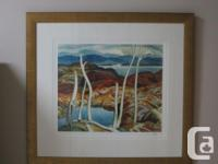 Limited Edition print by AJ Casson titled North Shore.