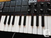 I am selling my AKAI MPK MINI keyboard. It is perfect