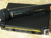 """Previously Owned"" AKG UHF Wireless Mic System for"