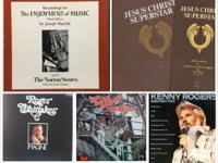 Albums and album jackets all in excellent condition. -