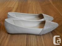 """Aldo """"Musigliano"""" ballet flats in silver (more like a"""
