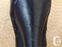"""Size 37. 3"""" heel. GUC. Left heel has small"""