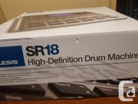 Mint condition Alesis drum machine, only used a