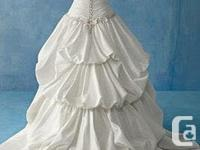 Alfred Angelo Disney Princess Wedding Dress. Never
