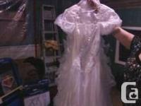 Alfred Angelo inc wedding dress size 8 asking 200.00