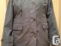 Alia (Tan Jay) lightweight microfibre jacket size