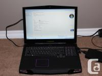 Hello, I am selling my Alienware R17x Laptop Please