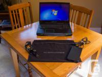 Offering an Alienware M17X R3 video gaming laptop