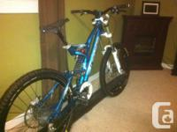 "2008 norco Aline park version ""blue"". Dimension:"