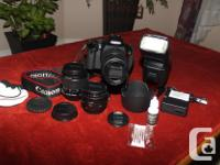 I'm selling the definitive DSLR kit - in the nick of