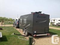 All aluminum 2013 Camp-Lite DB-16 trip trailer, 19'