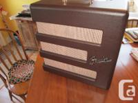Fender Excelsior amp, in mint condition.Previous owner