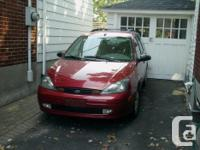 Make Ford Model Focus Year 2003 Colour red kms 196000
